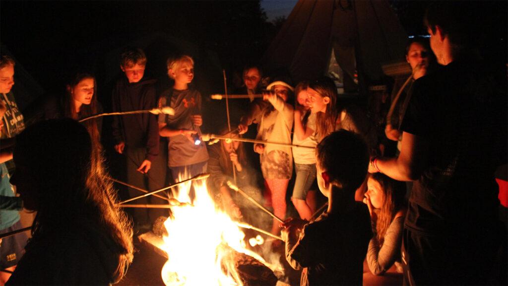 Zeltlager_2015_Feuer